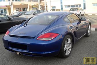 Porsche Cayman 2012 Sports