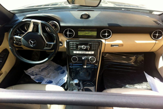 Mercedes SLK 200 2012 Sports