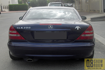 مرسيدس SLK 200 2004 رياضية
