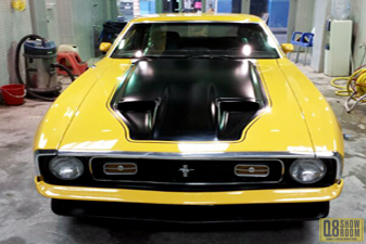 Ford Mustang MACH1 1972 Sports