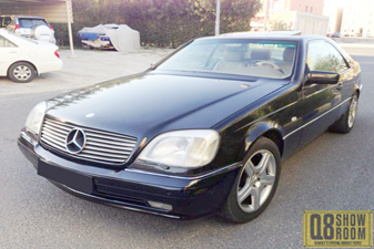 Mercedes CL 500 1998 Sports