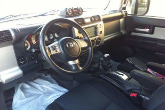 Toyota FJ Cruiser 2010 4x4