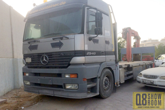 Mercedes 2540 2001 Heavy Equipment