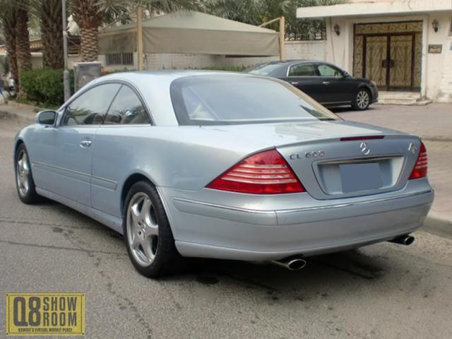 مرسيدس CL600 2004