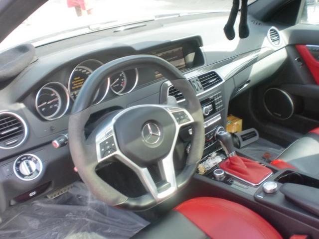 Mercedes AMG C63 2013