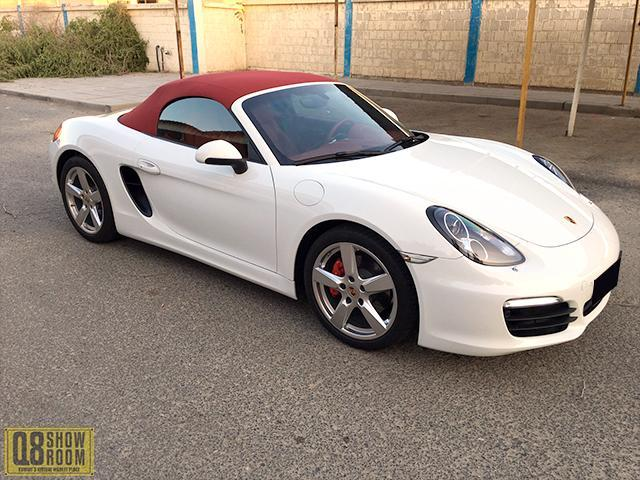 Porsche Boster S 2015