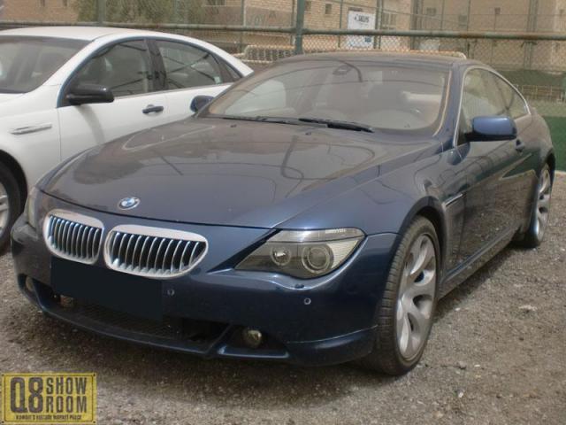 BMW 645I 2006
