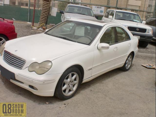 مرسيدس C240 2002